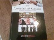 Associations Canada 2010 Edition ISBN- 978-1-59237-570-7