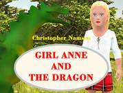 Children's book Girl Anne and the Dragon